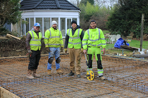 Timberley Projects - Offering Residential Groundworks services throughout Surrey, Sussex and Hampshire