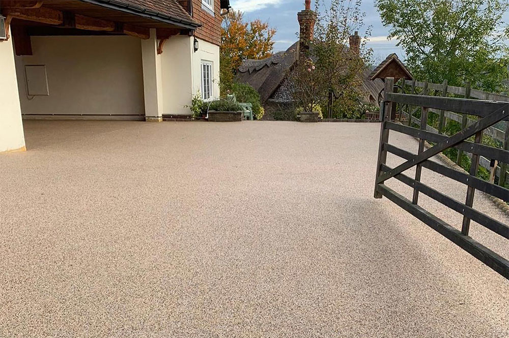 resin-bound driveway care