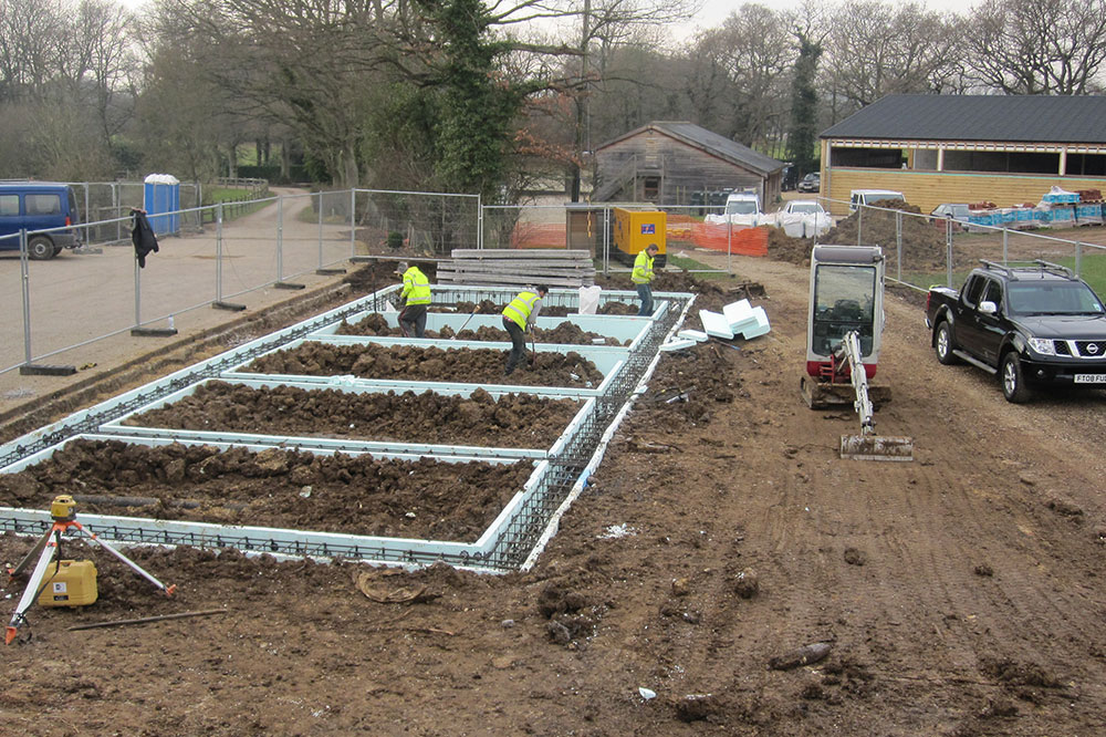 groundworks jobs foundations surrey sussex hampshire